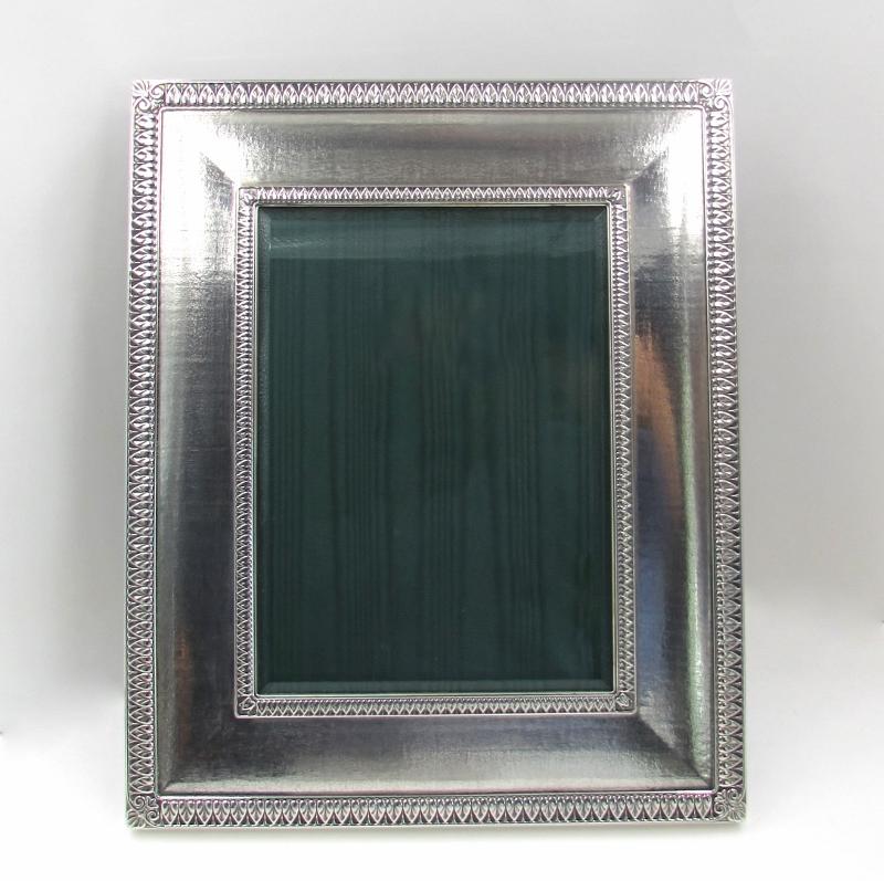 "Buccellati Sterling Silver ""Empire"" Frame (5″ x 7″) – S & K Ltd."