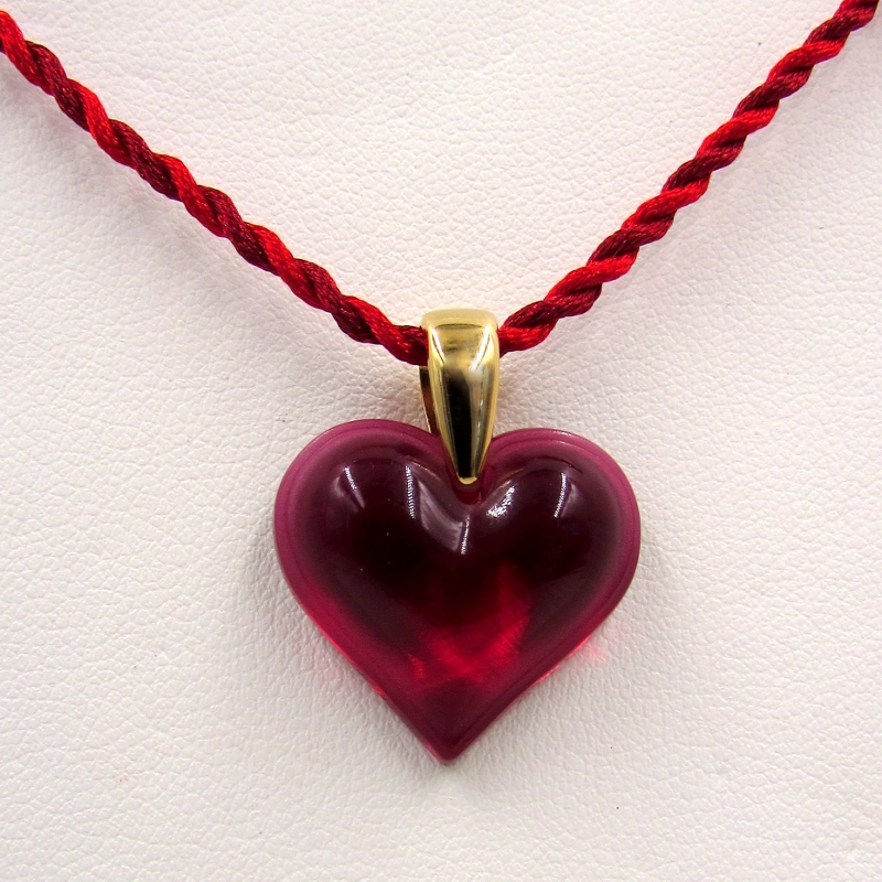 shop heart red ambar ruby large day princess bez valentine stones pendant s