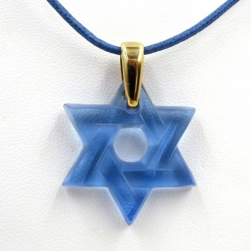 and pendant bottle il necklace necklaces en pendants star tienda blue