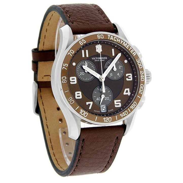 Victorinox Swiss Army Chrono Classic Brown Dial Men S Watch 241498